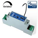Qubino Module Variateur Z-wave Plus Rail Din Avec Mesure D'énergie QUB_ZMNHSD1