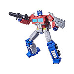 Transformers Generations War for Cybertron : Kingdom - Figurine Leader Class Optimus Prime 18 c