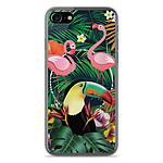 1001 Coques Coque silicone gel Apple IPhone 8 motif Tropical Toucan