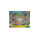 Bob l'éponge - Puzzle Bikini Bottom (3000 pièces)