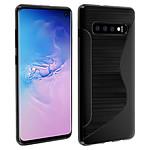 Avizar Coque Noir S-Line pour Samsung Galaxy S10