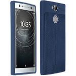 Avizar Coque Bleu Nuit pour Sony Xperia XA2