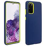 Avizar Coque Bleu Nuit pour Samsung Galaxy S20