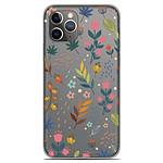 1001 Coques Coque silicone gel Apple iPhone 11 Pro motif Fleurs colorées
