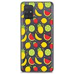 1001 Coques Coque silicone gel Samsung Galaxy A51 motif Fruits tropicaux