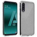 Avizar Coque Argent pour Samsung Galaxy A50