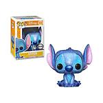 Lilo & Stitch - Figurine POP! Stitch Seated (Diamond Glitter) Exclusive 9 cm