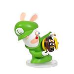 ubisoft     figurine mario lapins cretins kingdom battle luigi 08cm     noir