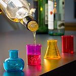 4 verres à shooters Chimiste