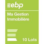 EBP Ma Gestion Immobilière version 10 Lots - Licence perpétuelle - 1 poste - A télécharger