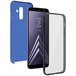 Avizar Coque Bleu pour Samsung Galaxy A6 Plus