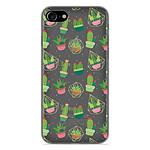 1001 Coques Coque silicone gel Apple iPhone 7 motif Cactus