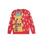 Pokémon - Sweat Christmas Pikachu - Taille M