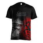 Game of thrones - T-Shirt Sigil Face Off - Taille XL