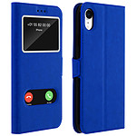Avizar Etui folio Bleu pour Apple iPhone XR