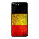 1001 Coques Coque silicone gel Apple IPhone 8 Plus motif Drapeau Belgique