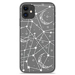 1001 Coques Coque silicone gel Apple iPhone 11 motif Lignes étoilées
