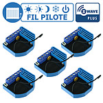 Qubino Lot De 5 Modules Fil Pilote Encastrable Z-wave Plus - Qubino QUB_LOT5_ZMNHJD1