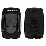 Avizar Support voiture Noir pour Tous Smartphones de 4,7 cm à 10 cm de largeur
