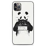 1001 Coques Coque silicone gel Apple iPhone 11 Pro Max motif BS Bad Panda