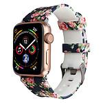 Avizar Bracelet de montre Bleu Nuit pour Apple Watch 7 / 6 / SE / 5 / 4 / 3 / 2 / 1 (42 / 44 / 45 mm)