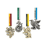 Harry Potter - Pack de 4 décorations sapin Hogwarts Mascots