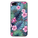 1001 Coques Coque silicone gel Apple iPhone 8 motif Tropical Aquarelle