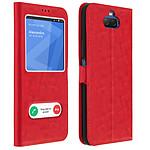 Avizar Etui folio Rouge pour Sony Xperia 10 Plus