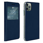 Avizar Etui folio Bleu Nuit pour Apple iPhone 11 Pro