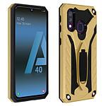 Avizar Coque Dorée Hybride pour Samsung Galaxy A40