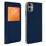 Avizar Etui folio Bleu Nuit pour Apple iPhone 11