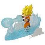 Dragon ball - Figurine Super Saiyan Goku Final Blast 9cm