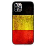 1001 Coques Coque silicone gel Apple iPhone 11 Pro motif Drapeau Belgique