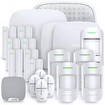 Ajax Alarme maison StarterKit Plus blanc  Kit 12