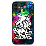 1001 Coques Coque silicone gel Apple iPhone 11 motif Swag or die