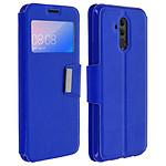 Avizar Etui folio Bleu pour Huawei Mate 20 lite