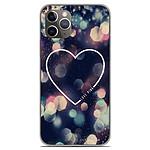 1001 Coques Coque silicone gel Apple iPhone 11 Pro motif Coeur Love