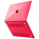 Avizar Coque Rouge pour Apple MacBook Air 13 2020 / 2019 / 2018