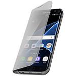 Avizar Etui folio Argent pour Samsung Galaxy S7 Edge