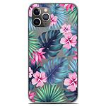 1001 Coques Coque silicone gel Apple iPhone 11 Pro motif Tropical Aquarelle
