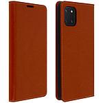 Avizar Etui folio Camel pour Samsung Galaxy Note 10 Lite