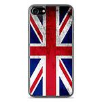 1001 Coques Coque silicone gel Apple IPhone 8 motif Drapeau Angleterre