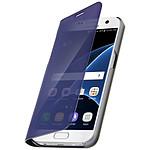Avizar Etui folio Bleu pour Samsung Galaxy S7