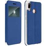 Avizar Etui folio Bleu pour Huawei P20 Lite