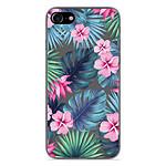 1001 Coques Coque silicone gel Apple iPhone 7 motif Tropical Aquarelle