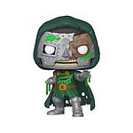 Marvel - Figurine POP! Zombie Dr. Doom 9 cm
