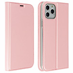 Avizar Etui folio Rose Champagne Éco-cuir pour Apple iPhone 11 Pro