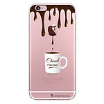 LA COQUE FRANCAISE Coque iPhone 6/6S rigide transparente Chaud Cacao
