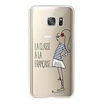 LA COQUE FRANCAISE Coque Samsung Galaxy S7 360 intégrale transparente Classe Tendance