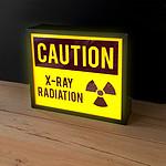 Boîte lumineuse Radioactivité